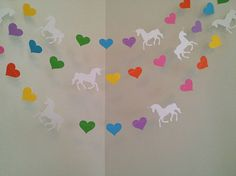 Unicorn Birthday Decorations Unicorn Party Unicorn Garland Rainbows & Unicorns Baby Shower Decorations Unicorn Nursery Decor Custom Colors Unicorn Room Decor Unicorn Birthday Decorations Unicorn Party by ClassicBanners