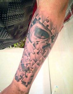 puzzle pieces tattoo designs - Google Search