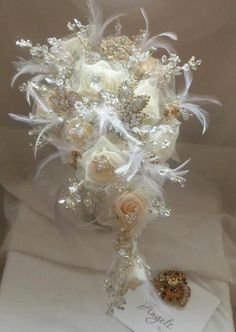 Crystal bouquet!