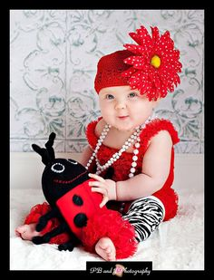 Lucy the Ladybug by RedsAttic on Etsy, $14.00