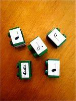 Rhythm via Lego.