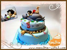 mogli and balu cake (by galit zingman)