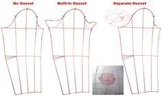 Underarm gussets - Overflowingstash
