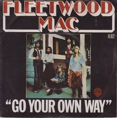 Fleetwood Mac - Go Your Own Way - Miniature Poster with Black Card Frame Room Posters, Band Posters, Poster Wall, Poster Prints, Gig Poster, Bedroom Wall Collage, Photo Wall Collage, Picture Wall, Wal Art