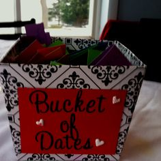 For a wedding shower-have each guest write a date idea for the couple.