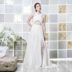 Gio Rodrigues Beatrice Wedding Dress joyful wedding dress cotton lace fine tulle trespass  engaged inspiration unique gorgeous elegant bride