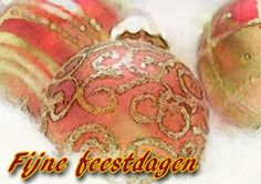 Roodgoude kerstkaart (Kaartland wenskaarten)