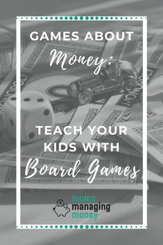 Teaching kids about money is easy when you make it a game. Here are 6 games about money you can play with kids to teach them about savings, budgeting, and more. Physical Activities For Kids, Creative Activities For Kids, Divorce And Kids, Board Games For Kids, Managing Your Money, Co Parenting, Family Night, Budgeting Money, Money Management