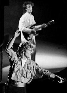 Wham-George Michael and Andrew Ridgeley
