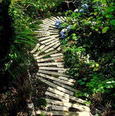 up the garden path...