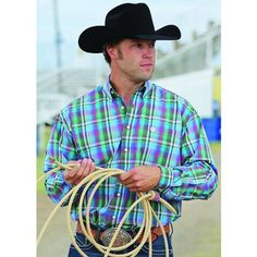 CINCH MENS JOHNSON SHIRT $99.95 Cinch shirts are a great choice for today's cowboy as they fit in out on the town or in the rodeo arena.