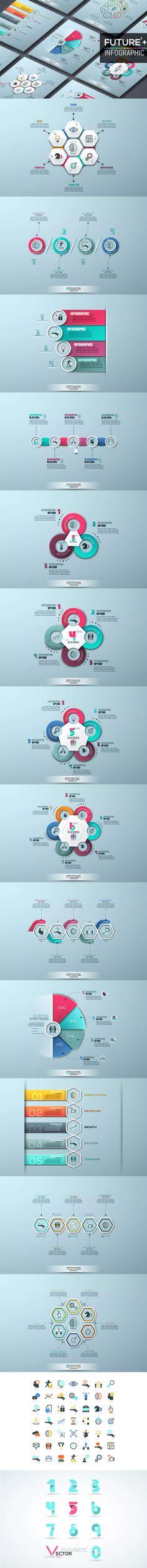 Future Infographic Template AI, EPS, PSD