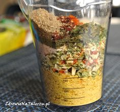 domowa vegeta Spice Rub, Polish Recipes, Polish Food, Cooking Recipes, Healthy Recipes, Vegan Vegetarian, Oatmeal, Food And Drink, Appetizers