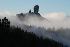 Roque Nublo - Gran Canaria. The big thumb (or jobby, if you like).