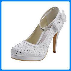 Kevin Fashion ,  Damen Modische Hochzeitsschuhe , Weiß - weiß - Größe: 43 - Damen pumps (*Partner-Link)