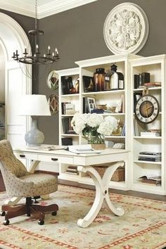Looks Like A Great Home Office In A Space About 8 X 10 Small Space Living Pinterest Small