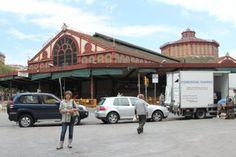 The Sant Antoni (El Mercat de Sant Antoni) food market  in Barcelona