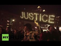 """LIVE: Londoners rally outside US embassy for 'justice for Mike Brown'  """"WE NEED JUSTICE FOR THE WORLD"""""""
