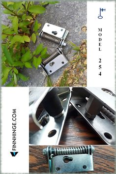 Spring hinge for industrial safety gates, stainless steel or zinc coated. Can be equipped with a damper. Made in Finland, delivered worldwide! Visit our webshop to find out more! Gate Hinges, Gate Hardware, Safety Gates, Industrial Safety, Spring Hinge, Finland, Usb Flash Drive, Stainless Steel, Doors