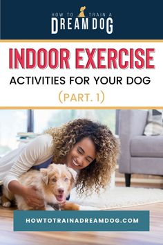 Is it too cold or too warm for your dog to be outside? Then check out these indoor exercise activities. Puppies Tips, Toy Puppies, Exercise Activities, Indoor Activities, Food Bowl, Puppy Training Tips, Training Your Dog, High Five, Sick Dog