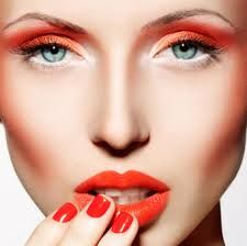 orange make-up lips - Pesquisa Google