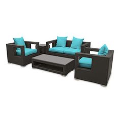 $1555 Lunar 5-Piece Set Turquoise now featured on Fab.