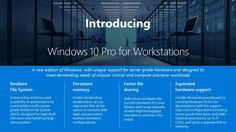 Microsoft announces Windows 10 Pro for Workstations with Fall Creators Update. The new Windows 10 Pro for Workstations was made specifically because of feedback that came from the Windows Insider program, making it a monument to the efficacy of user feedback. #WindowsInsiders Thank you for helping us define the new Workstation Edition with your survey responses! https://t. #Windows #Windows 10 #Windows Client