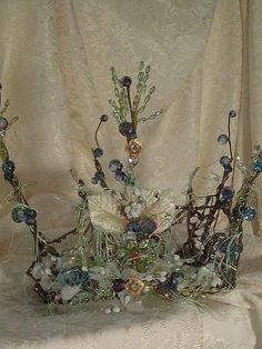 Blue Faerie Crown
