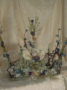 Blue Faerie Crown