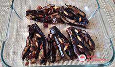 Melanzane in agrodolce a frangetta con uvetta e pinoli. Meat, Food, Essen, Meals, Yemek, Eten