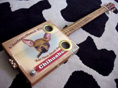 Cigar box guitar..they sound awesome.