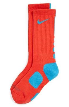 my boys are obsessed with these Nike elite socks