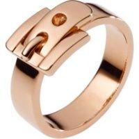 Buckle Ring, Rose Golden  MICHAEL KORS