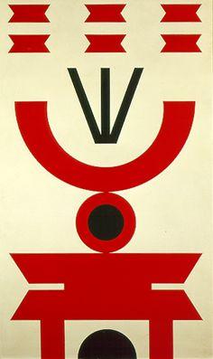 Emblema 4, Rubem Valentim (1922-1991), 1969. The São Paulo Modern Art Museum (MAM), Sâo Paulo, Brazil.