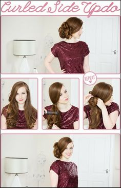 Easy Simple Knotted Bun Updo Hairstyle Tutorials :Wedding Hairstyle | Haircuts & Hairstyles for short long medium hair