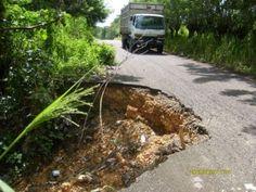 Carretera Hato Mayor Sabana de la Mar continua intransitable