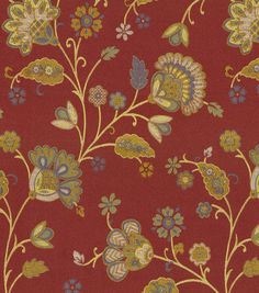 Upholstery Fabric-Waverly Tilly Trail Jewel at Joann.com