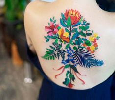 ada174aaa 11 Amazing tattoos images | Ink, Drawings, Floral tattoos