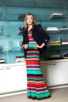 """Cruise Control. A BCBGMAXAZRIA resort dress paired with a jacket is perfect for work or play""  —Lubov Azria"