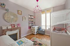 girly funky nursery by::tatiana nicol::