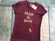 Muggle On Board Baby Announcement Prego by FletcherIncDesigns