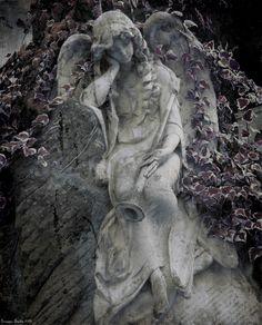 Sad angel by giuseppefaedda.deviantart.com on @deviantART