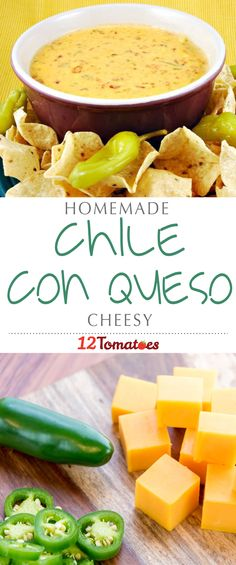 Today we're sharing a recipe for chile con queso with none of that processed garbage. No, this is all real cheese and all real ingredients! It's sure to be a hit with all your party guests.