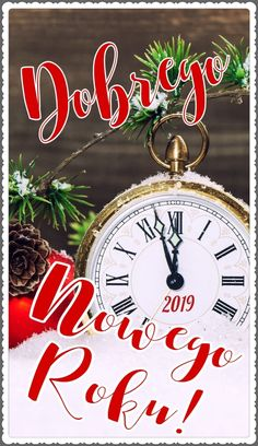 Kartka noworoczna 🥂🍾❤🥂🍾❤🥂🍾🥂❤🍾🥂❤ Happy New Year, Christmas, Pocket Watch, Watches, Accessories, Xmas, Wristwatches, Navidad, Clocks