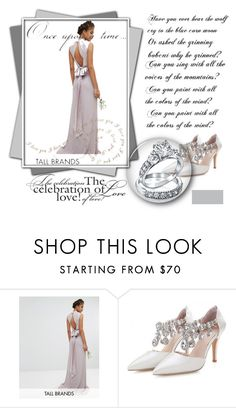 """Casamentos"" by marciabackermendes ❤ liked on Polyvore featuring TFNC, Bling Jewelry and Once Upon a Time"
