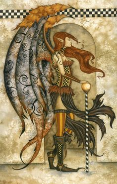Dragon Daughter, Limited Edition Print-Amy Brown Limited Edition Print Measures and has been Hand Signed and Numbered 76 out of 100 by Artist Dark Fantasy Art, Fantasy Artwork, Amy Brown Fairies, Dark Fairies, Fairy Wallpaper, Fairy Drawings, Unicorns And Mermaids, Steampunk, Beautiful Fairies