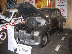 Holden 48/215 prototype, The first of the Chevrolet engined Holdens (1946) @ the Peter Briggs Collection, Perth, WA