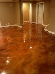 polished concrete floor colors - Google Search | Concrete ...