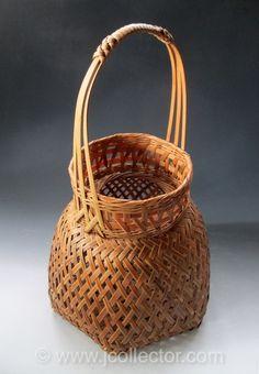 Japanese Bamboo Basket for Ikebana
