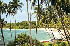The Sri Lankan Riviera - the Southwest coast around Galle (we'll be needing at least 3 days for this)...